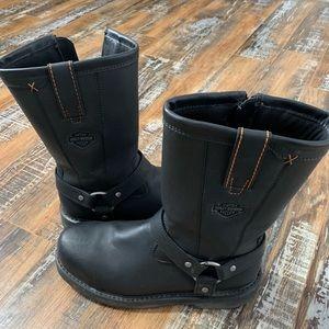 Harley Davidson Steel Boot Boot